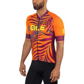 Alé Cycling Graphics PRR Sunset Maillot manches courtes Homme, flou orange-plum